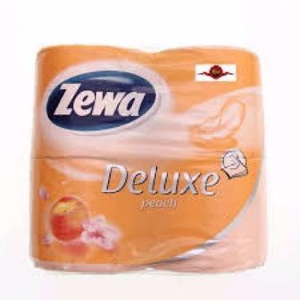 Рулон туалетной бумаги с ароматом персика