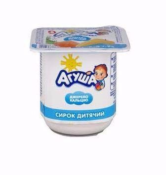 Сирок дитячий Агуша 100г