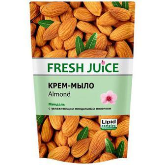 Мило Fresh Juice рідке зі зволожуючим молочком мигдаль 460мл