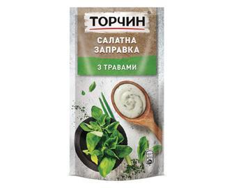 Заправка «Торчин» салатна з травами, 140г