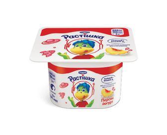 Йогурт «Растішка» з фруктовим наповнювачем персик, 2% жиру, 115г