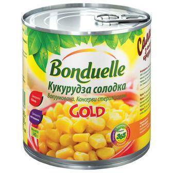 Кукурудза Bonduelle Expert Gold солодка 425мл