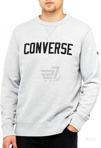 Джемпер Converse Essentials Graphic Crew 10005811-022 р. S сірий
