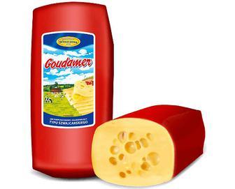 Сир Wloszczowa «Гоудамер» 45% жиру, кг