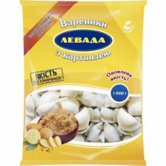 Вареники Левада з картоплею Левада кг
