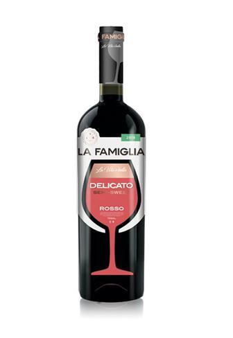 Вино Ла Фамігля Мускатне/Делікато біле/ червоне н/с 0,75л