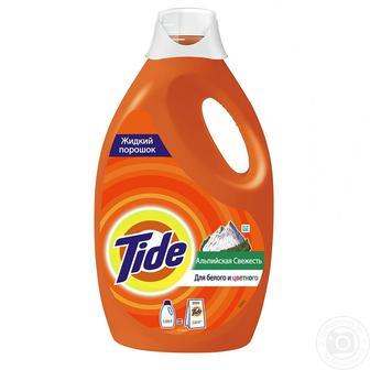 Засіб рiдкий для прання Альпійська cвіжість Tide 1,235 л