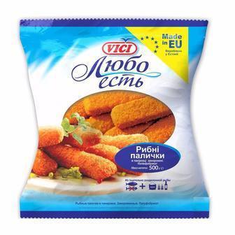 Рибні палички  VICI 500 г