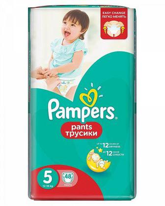 Подгузники-трусики PAMPERS Pants р5 12-18 кг 48шт