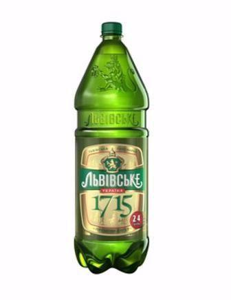 Пиво Львівське світле 1715 2,4 л