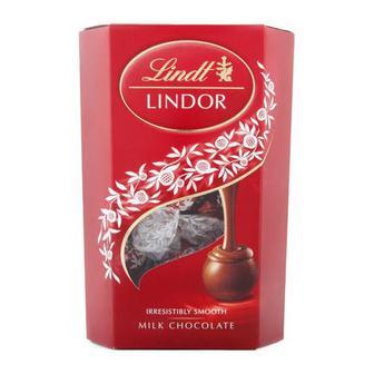 Скидка 34% ▷ Цукерки Lindt Lindor молочний шоколад 200г