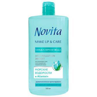 Міцелярна вода Novita морські водорослі 500мл