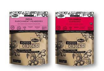 Кава Origins Columbia Supremo/ India Parchment Peaberry в зернах MINGES 250 г