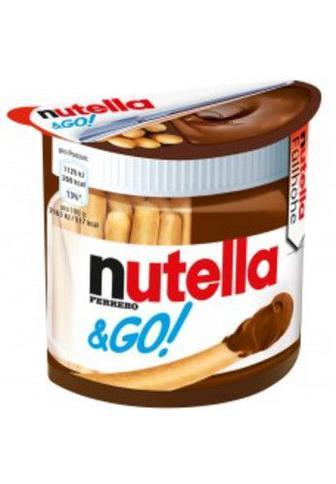 Паста горіхова з какао та хлібні палички 52г Nutella