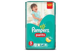 Скидка 24% ▷ Підгузки-трусики Pampers Pants Jumbo Pack 5 (12-18 кг) 48 шт./уп