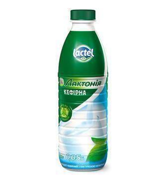 Кефір з лактулозою 2,5%, 0%  Лактонія 900 г
