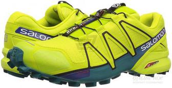 Кросівки Salomon SPEEDCROSS 4 Acid Lim L40077900 р.8 салатовий