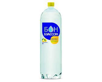 Вода мінеральна «Бон Буассон» плюс смак лимона, 2л