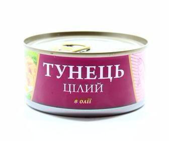Тунець в олії  FISH LINE 185 г