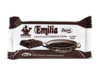 Шоколад Zaini Emilia чорний, 200г