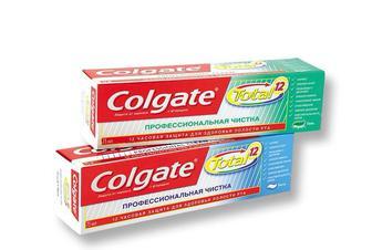 Зубная паста/Гель Total 12, Профессиональная чистка  Colgate  75 мл ЭКОНОМИЯ