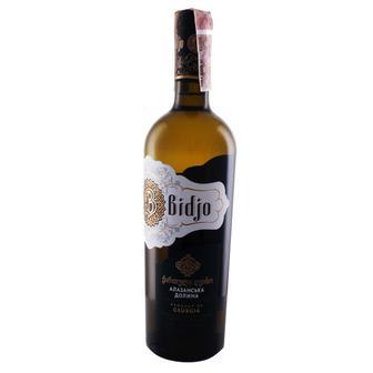 """Вино полусладкое белое Алазанская долина ТМ """"Bidjo"""" 0,75 л"""