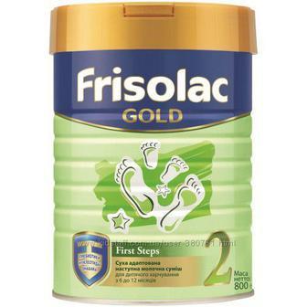 Смесь Friso Фрисолак 2 Gold с пребиотиками 400 г