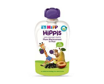 Пюре Hipp груша-слива-смородина, 100г