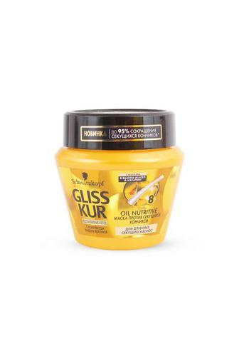 Маска-уход Gliss Kur для длинного и посеченного волоса Oil Nutritive, 300 мл