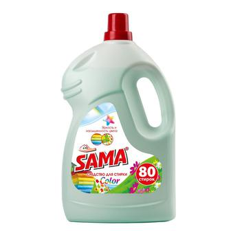 Засіб для пранняSama Color, 4000 г