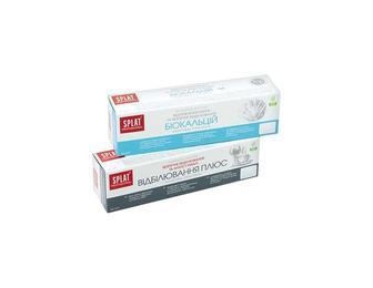 Паста зубна Professional Біокальцій/ Відбілювання Плюс Splat 40 мл