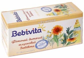 Фиточай Bebivita 012-У детский желудочный 30г