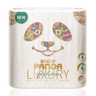 Бумага туалетная Сніжна панда Luxury Pure 8шт