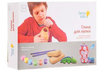 GENIO KIDS Набір для дитячої творчості Глина для ліплення (XYG001)