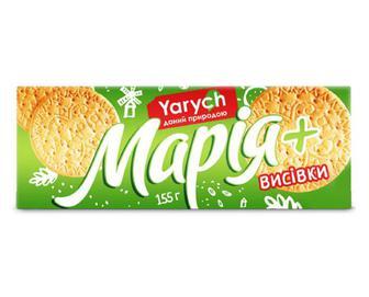Скидка 23% ▷ Печиво Yarych «Марія» з висівками, 155г