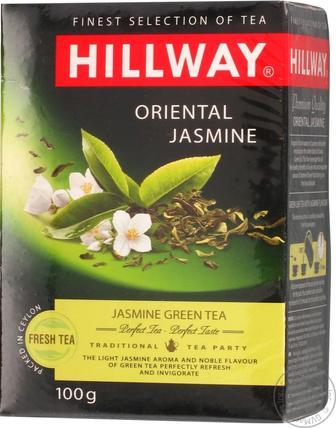 Чай Hillway зелений байховий Oriental Jasmine листовий 100г