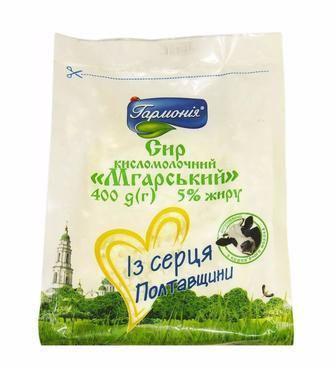 Сир Мгарський 5% Гармонія 400г