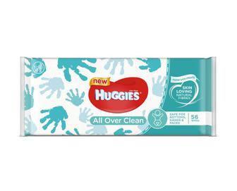 Салфетки влажные Хаггис All Over Clean №56