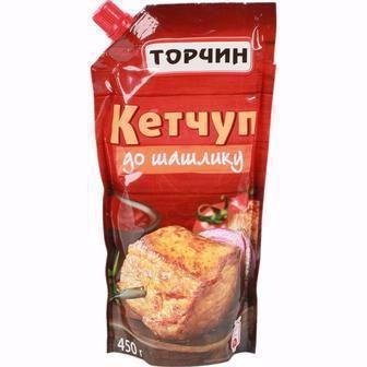 Кетчуп Лагідний/До шашлику  Торчин 300 г