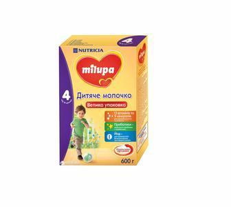 Смесь Milupa Замінник грудного молока Milupa-4 600 г