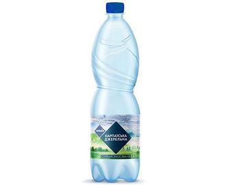 Вода мінеральна «Карпатська Джерельна» сильногазована «Премія»® 1,5л