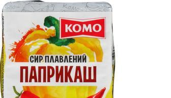 Сыр «Барбекю»/«С ветчиной»/«Паприкаш» 55%, КОМО, 90г