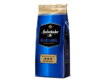 Кава в зернах смажена Ambassador Blue Laber, 1кг