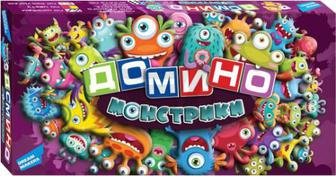 Гра настільна Dream Makers Доміно Монстрики 1709_UA