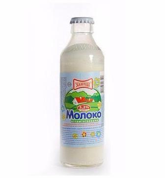 Молоко дитяче 3,2% Злагода 200мл