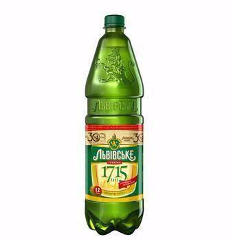 Пиво Львівське 1715 Львівське 1,2 л