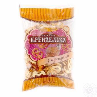 Печиво  Крендельки з цукром  Київхліб 300 г