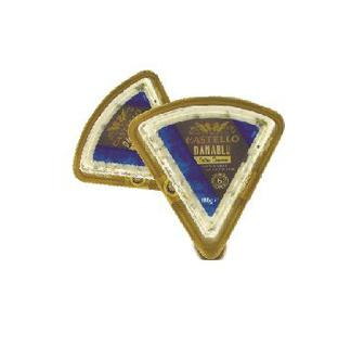Сир ДАНАБЛЮ Екстра з блакитною пліснявою 60% Кастелло, 100 г