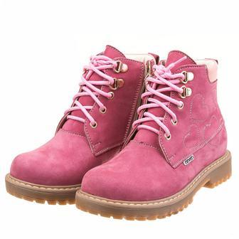 Ботинки демисезонные Eleven Shoes розовые