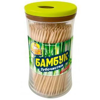 Зубочистки бамбукові Фрекен Бок 250шт